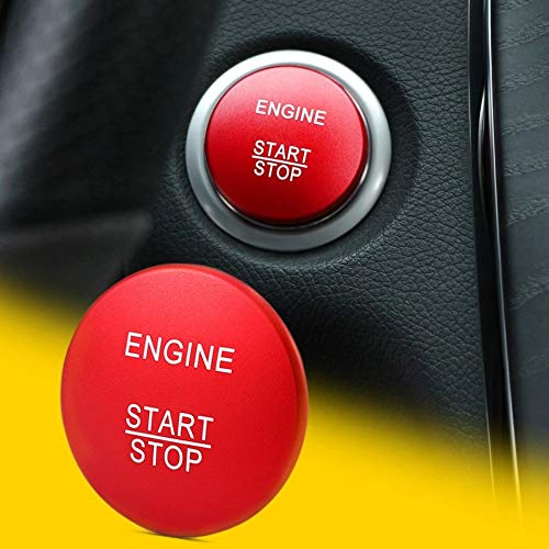 Emblem Trading Start Stop afdekking rood geschikt voor A B C klasse GLA GLC GLE GL