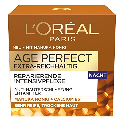 L'Oréal Paris Age Perfect Extra-Reichhaltig Manuka Nachtpflege, 50 ml