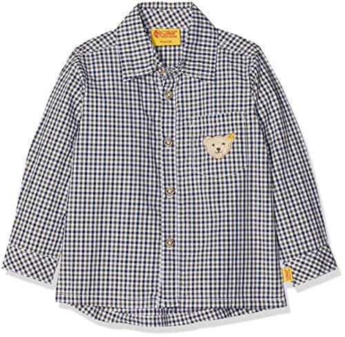 Steiff Baby-Jungen 1/1 Arm Hemd, Mehrfarbig (Y/d Check|Multicolored 0002), 80
