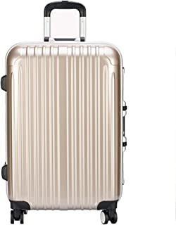 XY Trolley Case-24/26 Inch Aluminum Frame Aircraft Wheel Trolley Case Student Luggage Solid Color Password Suitcase Business Travel Check Box 4 Color Optional Luggage Sets