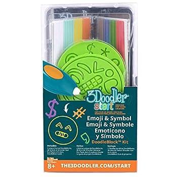3Doodler 62125  Emoji and Symbols Doodle Block Kit for 3D-Stift