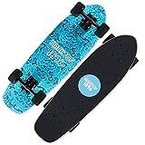YXB Junior Skateboard, Scooter débutant à Quatre Roues, avec l'autocollant Sac extérieur Bande Anti-Collision H1/22 (Color : C)