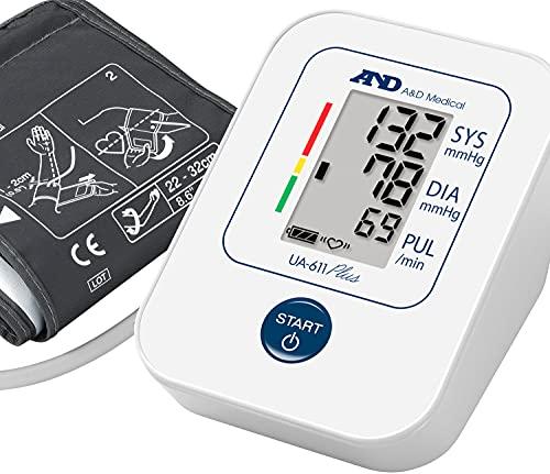 A&D Medical UA-611 Plus Blood Pressure Monitor with AFib Screening
