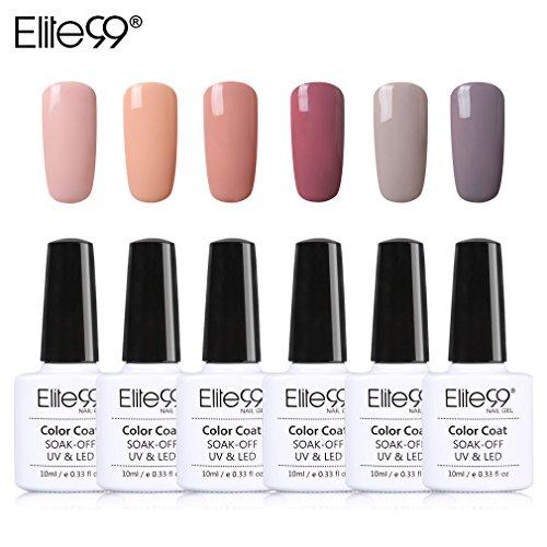 Elite99 UV LED Nagellack set UV Gel shellac set sock off gel peer off nagellack UV farbgel gel Nail...