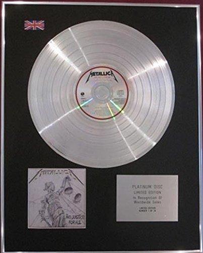 "Metallica, disco de platino, ""And Justice For All"""