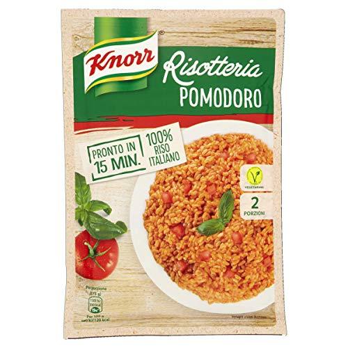Knorr - Risotteria, Minestra Preparata Disidratata Con Pomodoro, 2 Porzioni - 175 G