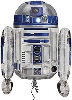 Anagram Star Wars R2-D2 Shaped Supershape Foil Helium Balloon