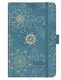 Premium Timer Small Arabesk - Kalender 2021 - Korsch-Verlag - Taschenkalender A6 mit Stifthalter, Lesebändchen und Zetteltasche - eine Woche auf 2 Seiten - Buchkalender 8,8 cm x 13,8 cm