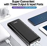 Baseus Power Bank Externer Akku 30000mAh, USB C Schnelles Aufladen Tragbares Ladegerät für iPhone, iPad, Mac, Kompatibel mit Samsung, Huawei und mehr - 6