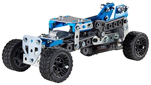 Bizak Meccano Bauset 10 LKW Lernwagen Steam 61921791 , Farbe/Modell Sortiert