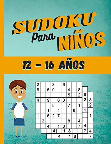 Sudoku para niños 12-16 Años: 200 Sudoku Niños de con Soluciones 9x9 para niños o niñas (21.59 x 27.94 ) Entrena la Memoria y la Lógica
