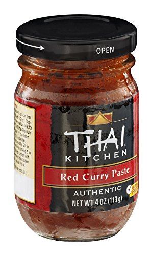 Thai Kitchen Gluten Free Red Curry Paste, 4 oz (Pack of 6)