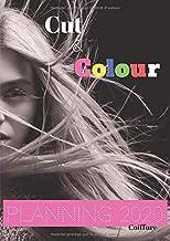 Cut&Colour© Planning 2020 coiffure: Agenda professionnel   vue mensuelle à chaque page pour prise de RV fluide   amplitude 8h00-20h30 - 15mn   ... par et pour des pros   format A4-266 pages