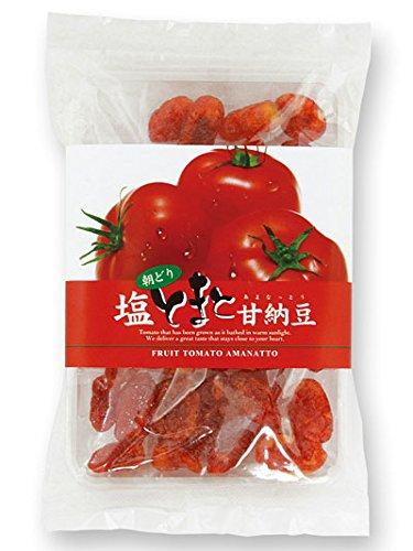 朝どり 塩とまと甘納豆(150g)/ドライフルーツ ドライトマト 塩トマト あまなっとう ローズ岩塩//
