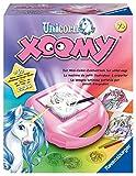 Ravensburger Xoomy Unicorn - Comics zeichnen lernen, Kreatives Zeichnen und Malen für Kinder ab 7 Jahren, Mini-Zeichentisch für unterwegs