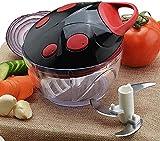 Chopper alimentos, vegetales interruptor vegetal de corte artefacto multifuncional vegetal Shredder Manual doméstica pequeña amoladora vegetal picadora manual cfbcc