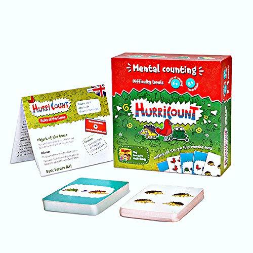 Divertidos juegos de mesa de matemáticas para niños en edad preescolar: contando...