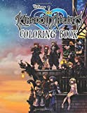 Kingdom Hearts Coloring Book: 30+ beautiful illustrations of Kingdom Hearts for kids and adults