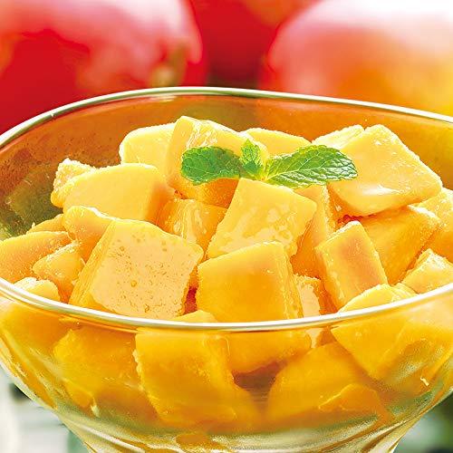 [餃子の王国]冷凍カットマンゴー 1kg 冷凍 フルーツ マンゴー カット済 解凍 便利 さわやか デザート おやつ