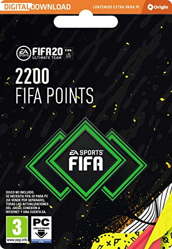 FIFA 20 Ultimate Team - 2200 FIFA Points - Código Origin para PC