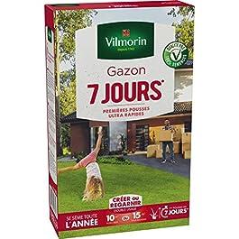 Vilmorin – Gazon 7 jours 250gr