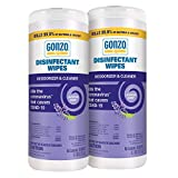 Gonzo Disinfectant Wipes - 60 Wipes - Lavender, Multipurpose Cleaner,...