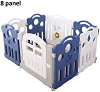 Playpens Baby Playpen 8 Panel Kids Activity Centre Safety Play Yard Home Indoor Outdoor Play Fence pens (Color : C)