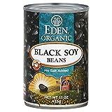 Eden Foods Organic Black Soy Beans, No Salt Added, 15 OZ (Pack - 2)...