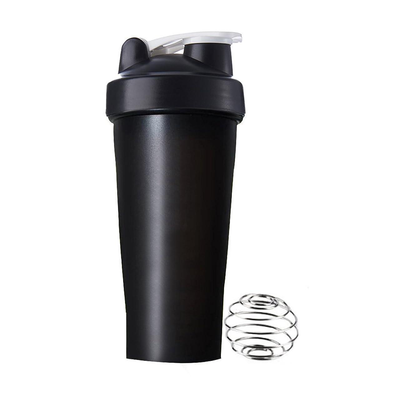 コマース南アメリカ共和国Sports Pro プロテインシェイカー 600ml シェーカーボトル (ブラック)