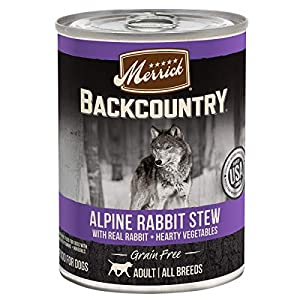 Merrick Backcountry Grain Free Wet Dog Food and New! Variety Pack (Case of 12)