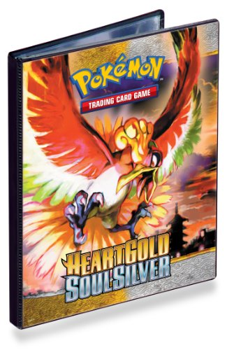 Ultra Pro 82460 - Pokemon 4-Pocket Portfolio Heartgold Soulsilver GS01