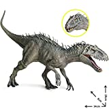 precauti 34CM / 13.4IN Tyrannosaurus Rex Stimulation Animal Toy Plastic Jurassic Indominus Rex Figuras de accin Boca Abierta Modelo de Dinosaurio
