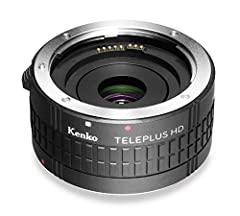 Increases focal length from same camera position by 2x Superior performance for unsurpassed image quality and ease of use Fits easily between lens and camera body, Kenko DGX Teleplus conversion lenses are compatible with only genuine lenses (Nikon an...