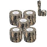 Camo Wrap Tape Armée Militaire Camouflage Bande s'accrocher pour Fusils de chasse...