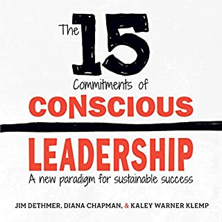 The 15 Commitments of Conscious Leadership cover art