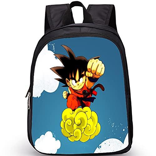 Anime - Bolsas con impresión 3D para niños y niñas, adolescentes, impermeables, duraderas, para viajes, estilo informal, color 5, tamaño: 35 x 27 x 14 cm