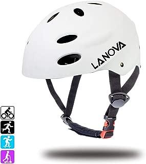 purple kids bike helmet