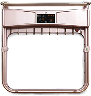 Luckwq Smart Towel Rail,Electric Heated Towel Rack Heating Temperature Controlled UV Disinfection Electric Clothes Dryer Heat Sink Family Hotel Kitchen