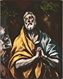 Spiffing Prints EL Greco - The Repentant St. Peter - Small