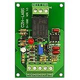 Electronics-Salon Montaggio a pannello tensione del modulo comparatore Relay, DC12V, SPDT 10A Relay.