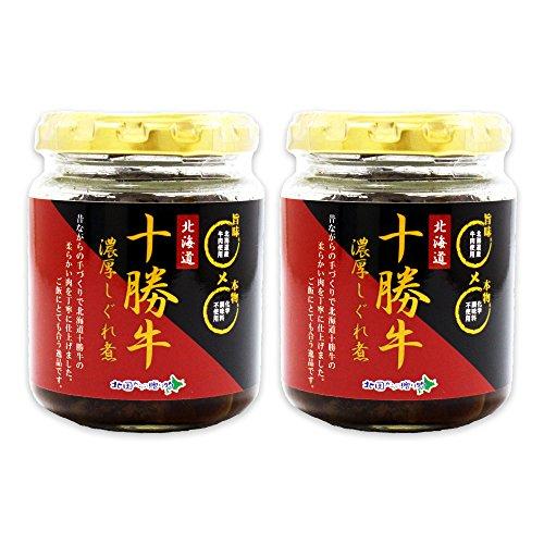 Amazon.co.jp限定 ご飯のお供 北海道産 十勝 牛しぐれ 90g瓶 2個セット