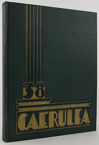 High School Yearbook for 1938 Caerulea Long Beach Polytechnic Poly (California) Famous Students (high school yearbooks)