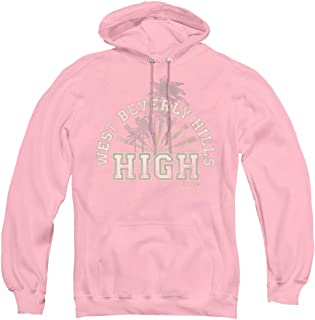 Trevco 90210 West Beverly Hills High Unisex Adult Pull-Over Hoodie for Men and Women