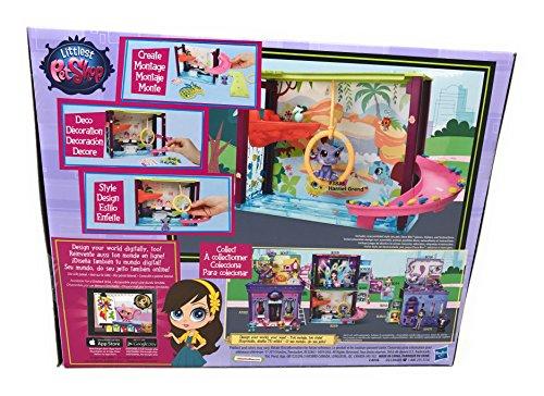 『Girl Toys Bundle Toys Littlest Pet Shop Dance Club Discoteca and Littlest Pet Shop - Style your Way Playset - Pawza Pool』の4枚目の画像