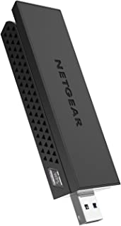 NETGEAR AC1200 Wi-Fi USB Adapter High Gain Dual Band USB 3.0 (A6210-100PAS) (Renewed)