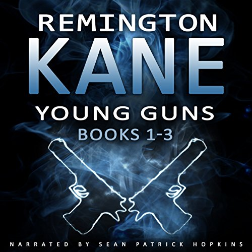 Young Guns, Books 1-3 audiobook cover art