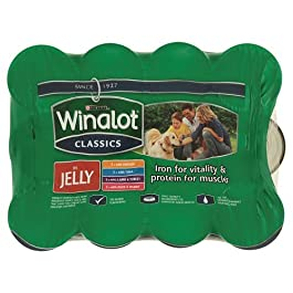 Purina Winalot Classics Mixed Variety Chunks in Jelly Adult Wet Dog Food 4800 g (Pack of 12) 4800 g