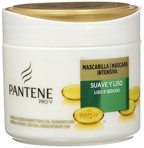 Pantene Mascarilla para Pelo Suave y Liso - 300 ml