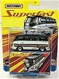 Matchbox Superfast #04 White '59 Volkswagen MICROBUS Detailed Die Cast Collector Van