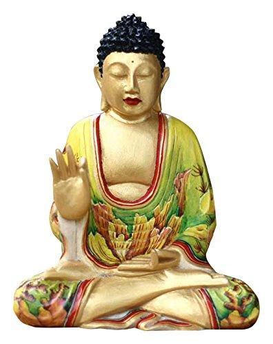 NOVICA Buddhas Teachings Wood Statuette